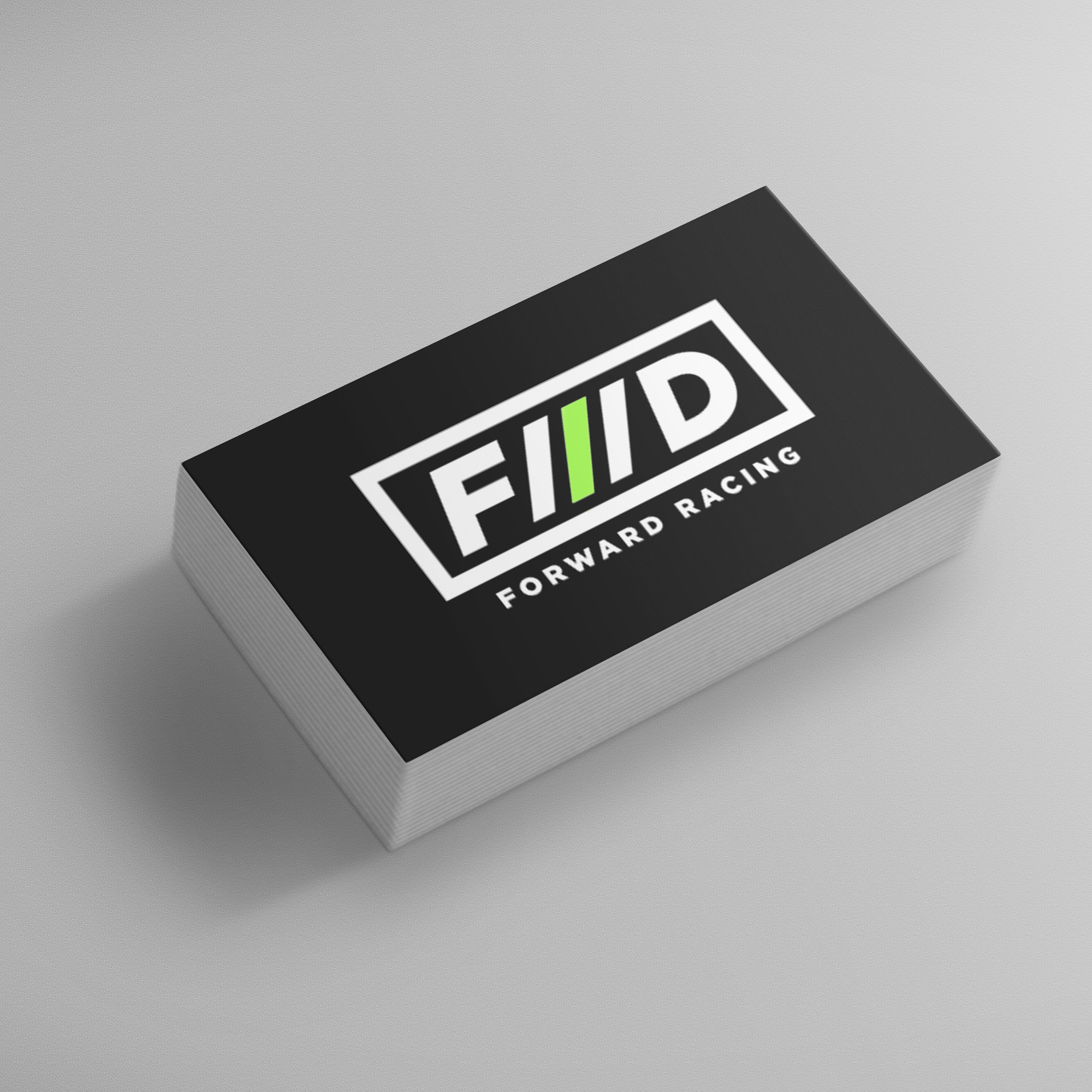 Forward Racing business card